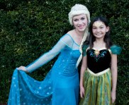 Anna from Frozen with Ice Queen