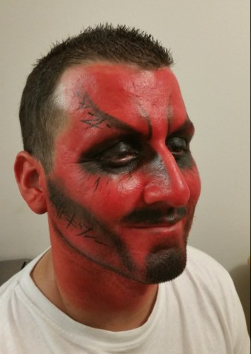 Goleta Face Painting, Demon