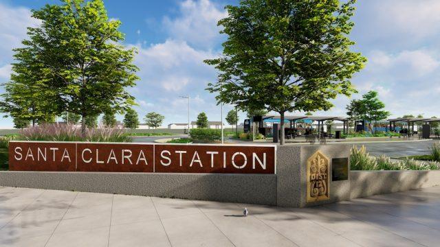 Santa Clara Transit Station