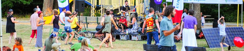 Header - Concert in the Park - Santa Clara, Oregon