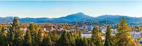 City of Eugene from Skinner's Butte