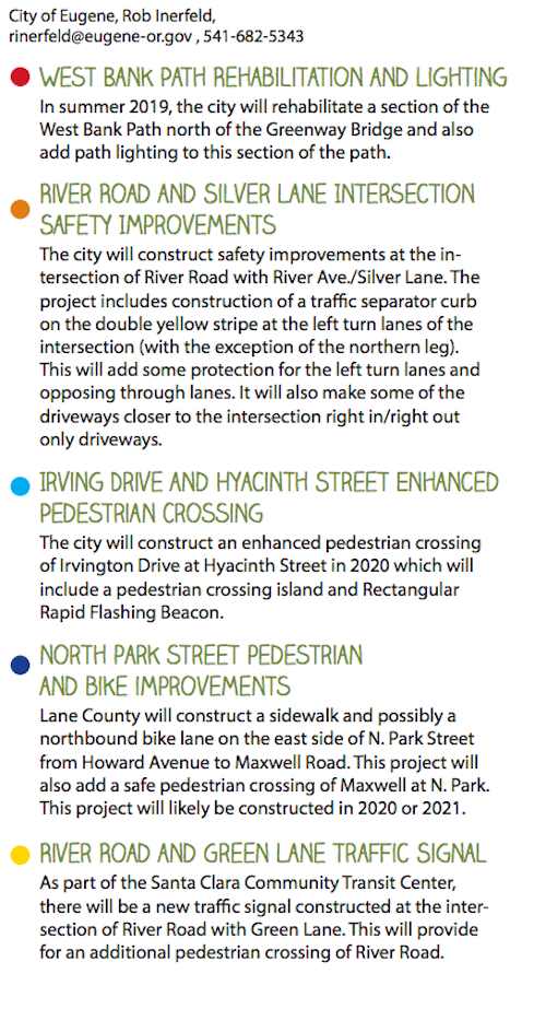 River Road Funded Transportation Safety Investments