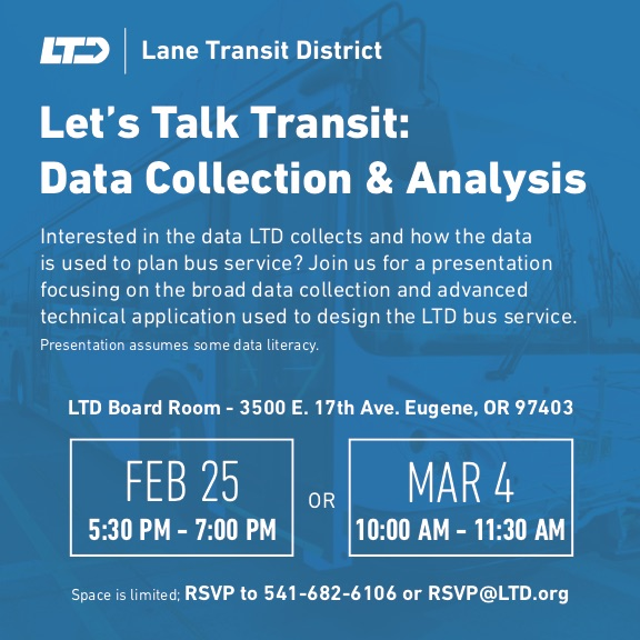 LTD Data Collection and Analysis meetings