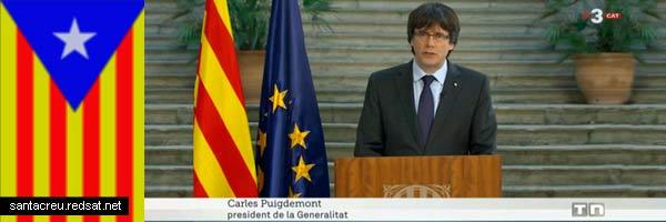 Según la TV3 Carles Puigdemont sigue siendo Presidente de la Generalidad