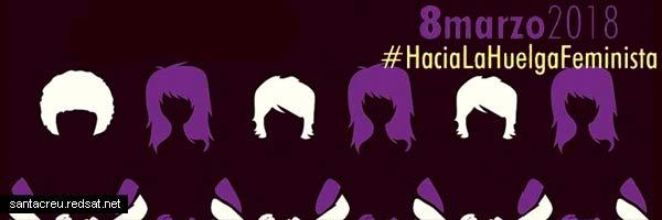 Huelga feminista 8M día de la mujer