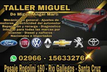 TALLER MIGUEL