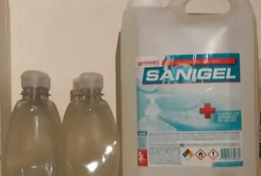 Sanigel alcohol en gel