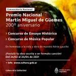 Premio Nacional Martín Miguel de Güemes