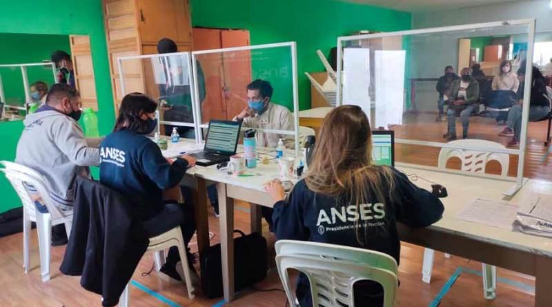 Cerca de  400 beneficiarixs fueron atendidos por la ANSES en 4 días de atención