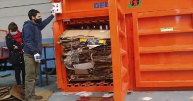 maquinarías de reciclaje