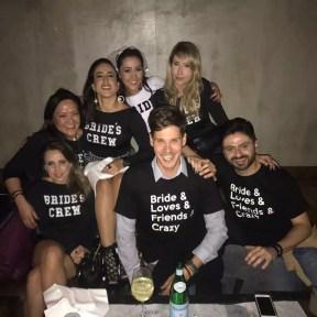 camiseta despedia de solteira