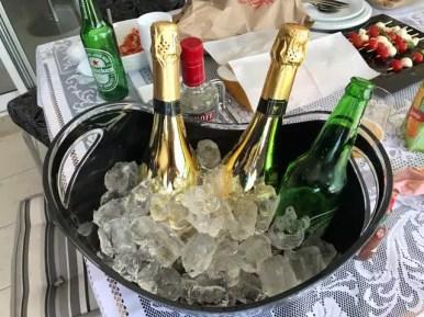champagne personalizado padrinhos