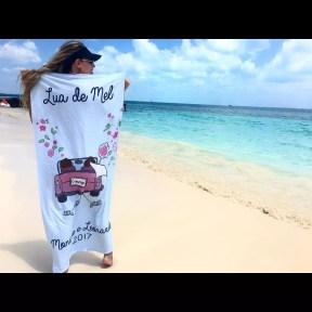 toalha de praia personalizada