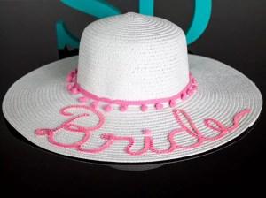 chapeu de praia personalizado