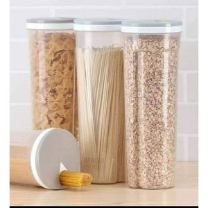 Spaghetti And Cereal Storage Container Jar