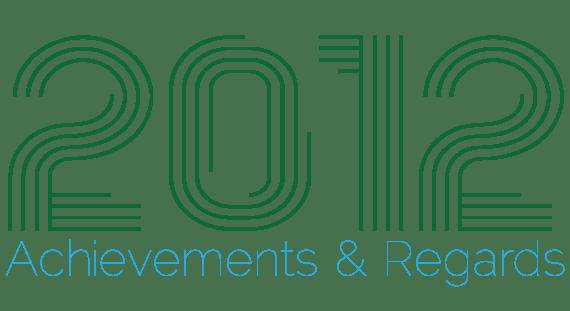 2012 website design achievements