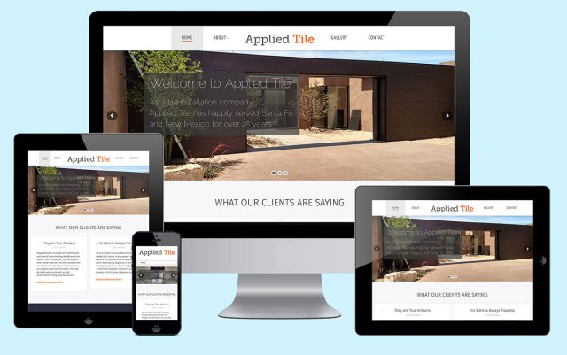 applied tile responsive web design