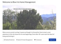 Blue Iris Blog