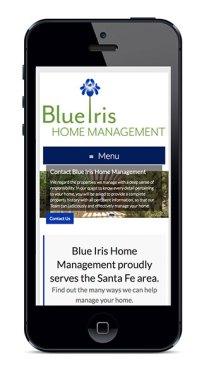 Blue Iris iPhone Phase