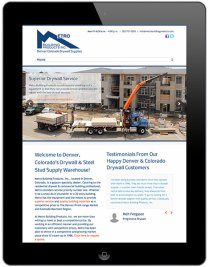Metro Building Products iPad Phase