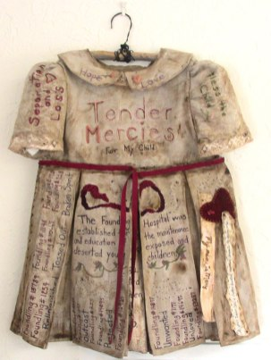 Tribute to the Children of the London Foundling Hospital by Penne Mobley