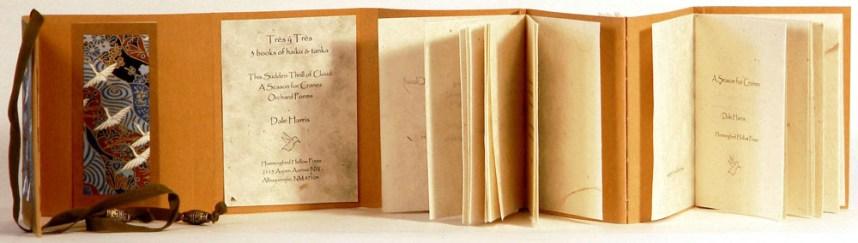 Tres y Tres 3 Books of Haiku & Tanka by Dale Harris