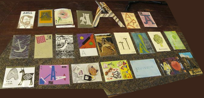 """A"" Postcards"
