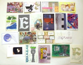 """""""E"""" Postcards"""