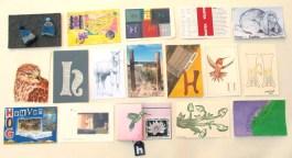 """H"" Postcards"
