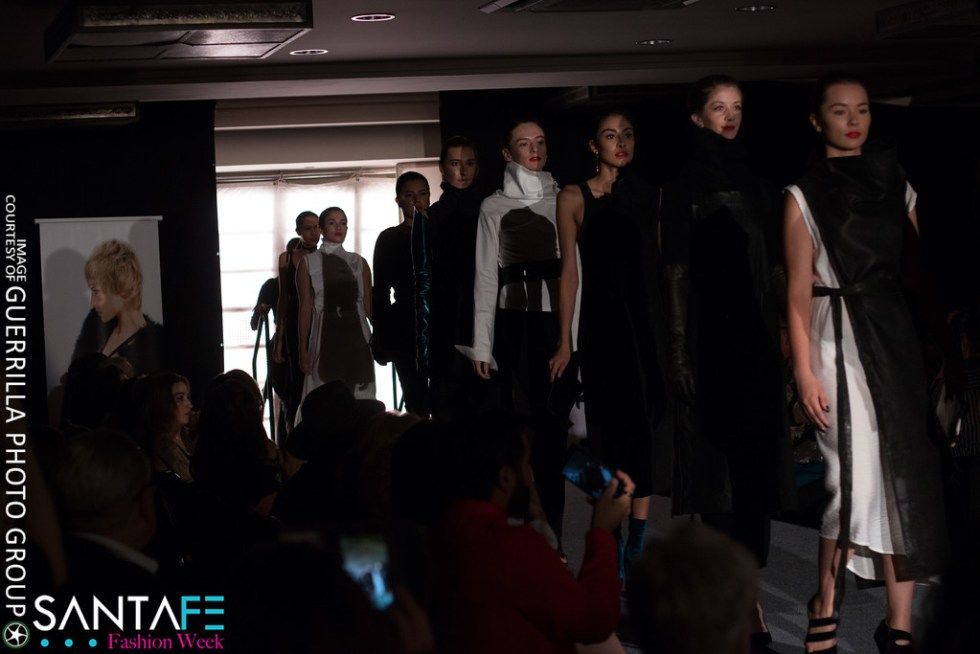 Runway show by Melissa Fleis