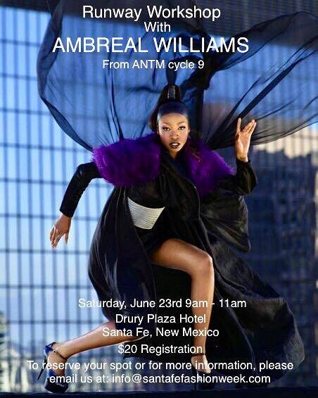 runway workshop with ambreal williams
