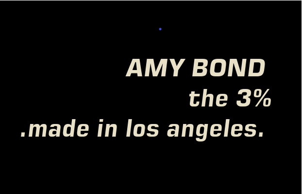 Amy Bond made in LA