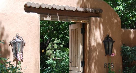 guided private home garden tour santa fe