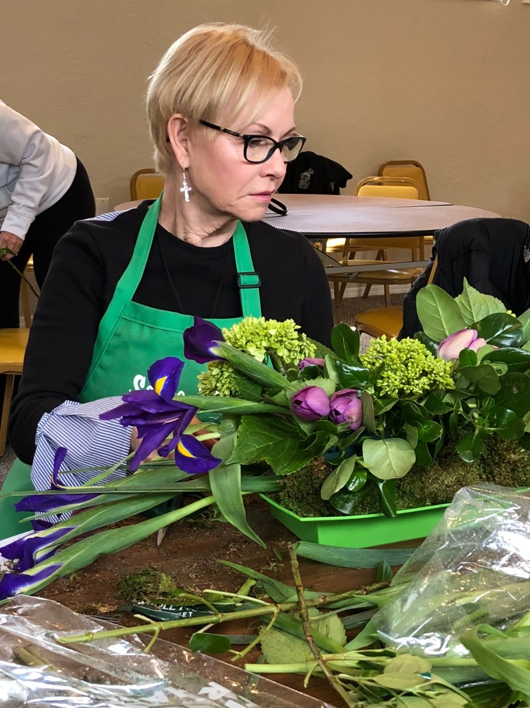 A mid-April Floral Design Workshop