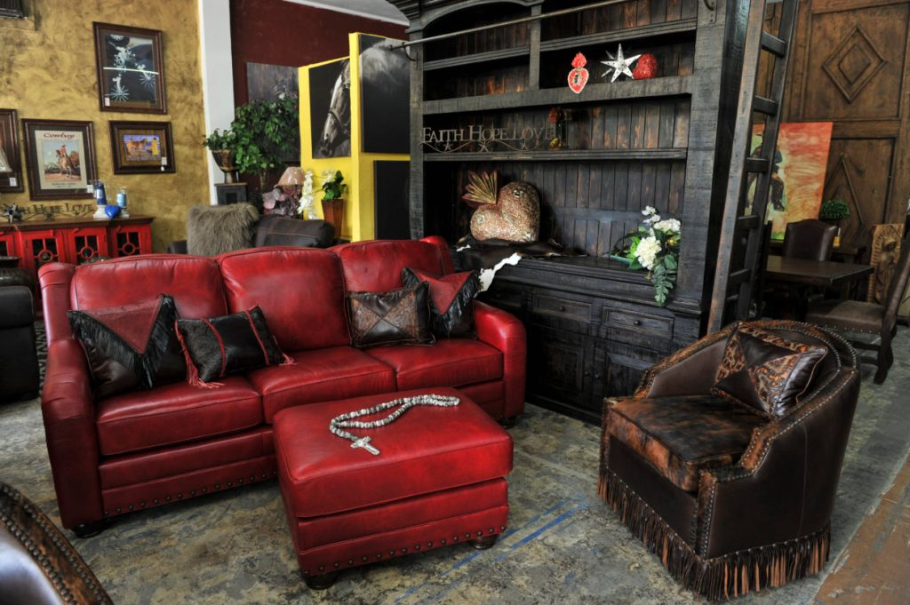 The Chilholm Leather Sofa