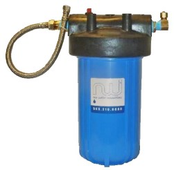 Under counter water filtration ideal for renters