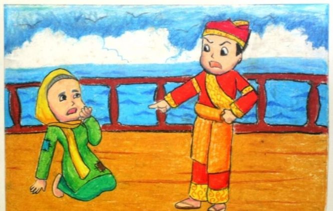 contoh naskah drama cerita rakyat