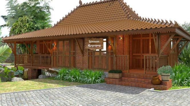 Inilah Rumah Adat Jawa Tengah Joglo Gambar Dan Keterangannya
