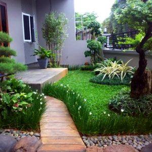 65 Desain Taman Minimalis Simpel Sederhana dan Mudah