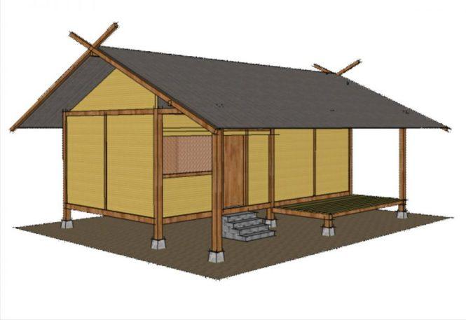 rumah adat jawa barat capi gunting