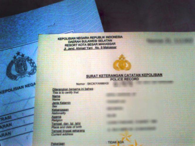syarat perpanjang SKCK keperluan luar negeri