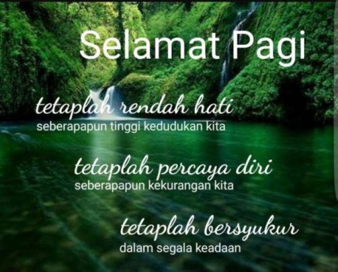 Inspirasi Ucapan Selamat Pagi Motivasi Romantis Dan Islami