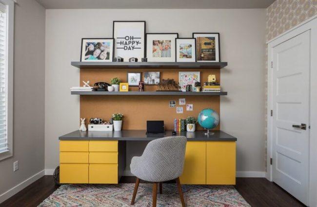 Delight zen home office design ideas #Deskideas #Smallofficeideas #Officedecoratingideas #Homeofficedecor