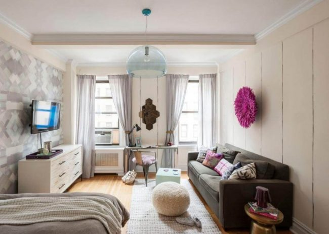 Delight 400 sq ft apartment decorating ideas #Apartmentdecoratingcollege #Homedecor #Smallapartmentdecorating