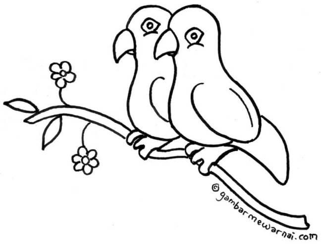 gambar kartun lucu hitam putih