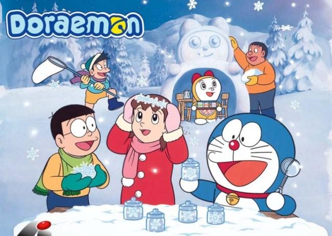 Gambar Doraemon dan Kawan Kawan