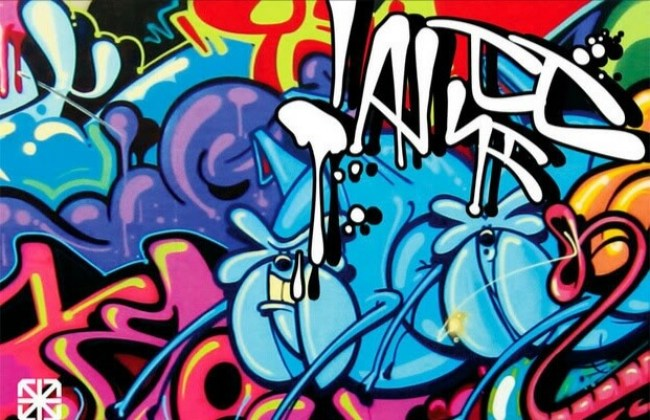 Kumpulan Gambar Grafiti Keren | Tulisan Nama 3D & Cara ...