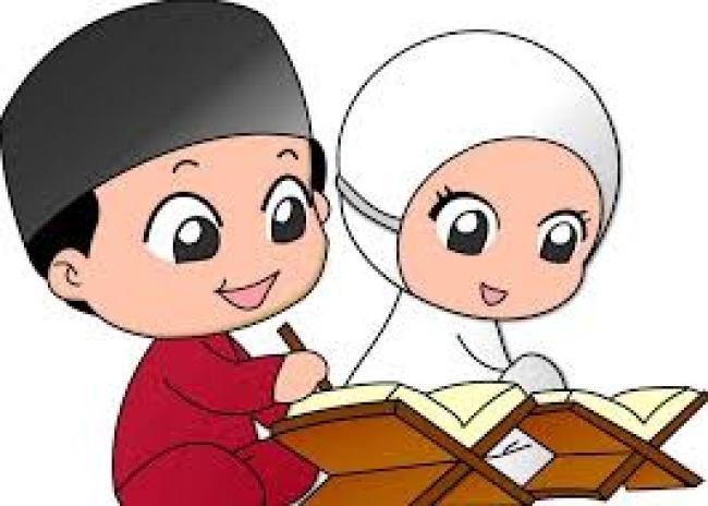 Gambar Kartun Lucu Muslim dan muslimah