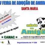 V FEIRA DE ADOÇÃO DE ANIMAIS DE SANTA MARIA