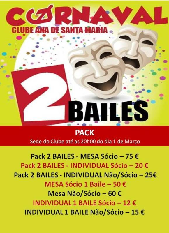 Baile Carnaval Clube Ana
